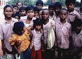 Patenkinder Indien 1
