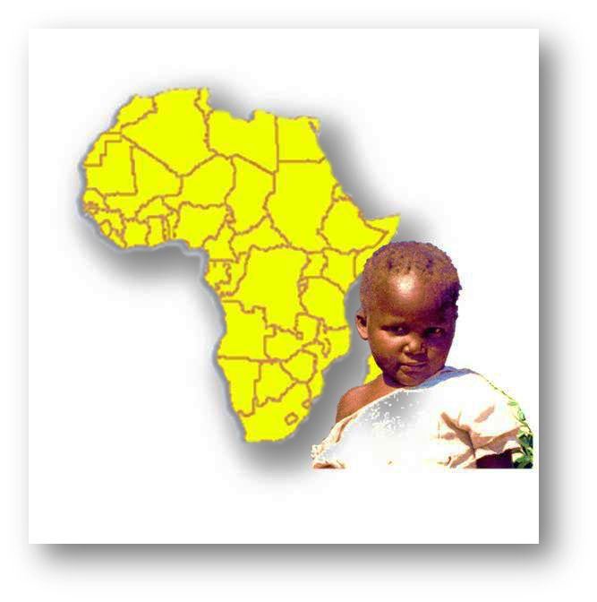Kind aus Afrika b
