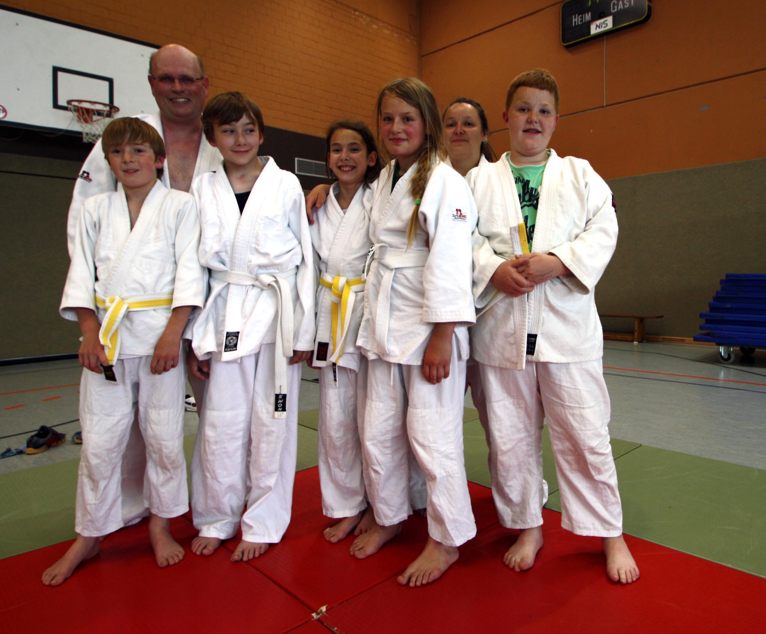 Judo-AG 2012