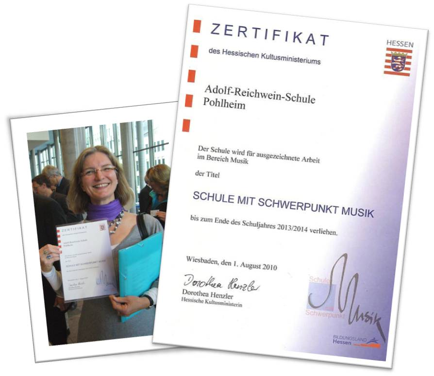 Kattrin Becker mit Urkunde