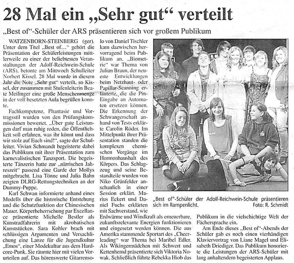Best of 2011 Gißener Anzeiger